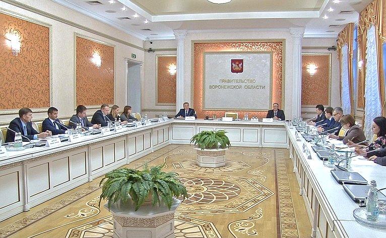 Сенатор Сергей Лукин провел совещание повопросам развития интеллектуальной собственности