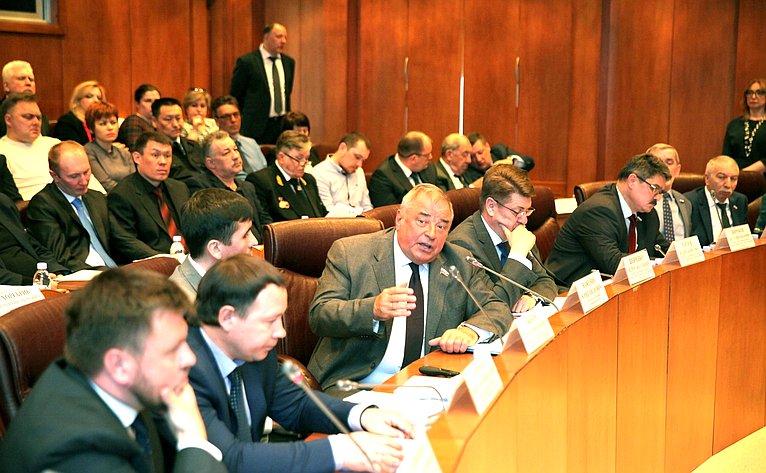 Выездное совещание Комитета СФ пофедеративному устройству, региональной политике, местному самоуправлению иделам Севера совместно сКомитетом СФ поэкономической политике вАнадыре