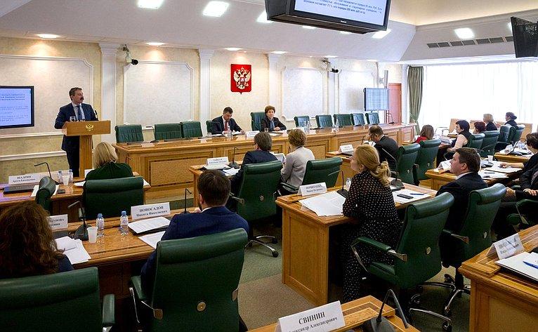 Заседание Совета поразвитию социальных инноваций субъектов РФ натему «Опыт участия социально ориентированных некоммерческих организаций воказании социальных услуг населению»