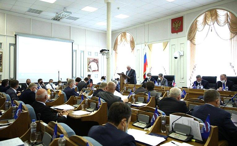 Михаил Козлов принял участие взаседании Костромской областной Думы