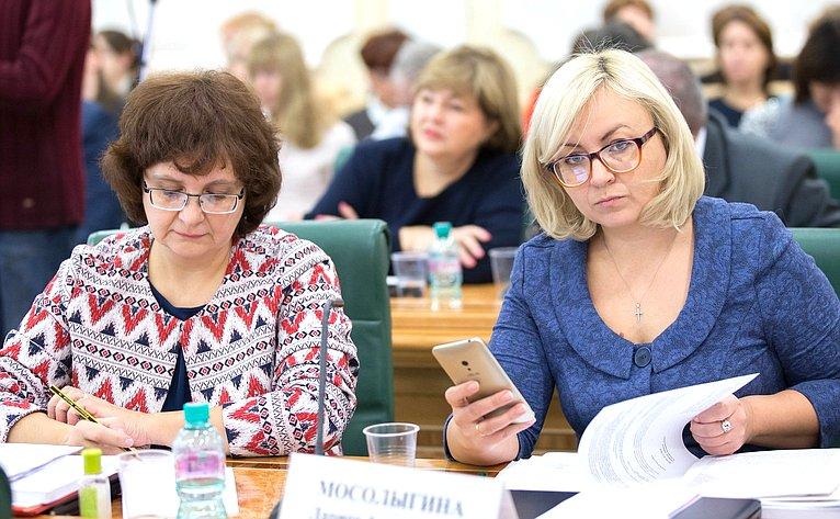 Парламентские слушания натему «Основные направления совершенствования семейного законодательства Российской Федерации насовременном этапе»