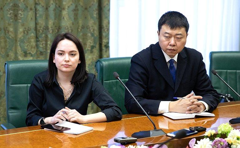 Встреча А. Пушкова спредставителями СМИ