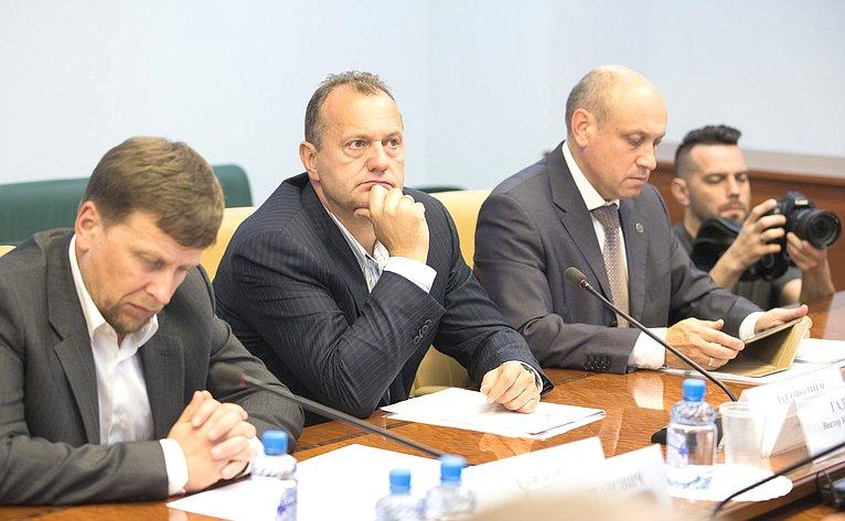 Заседание рабочей группы при Комитете СФ поэкономической политике повопросам малого исреднего предпринимательства вРФ