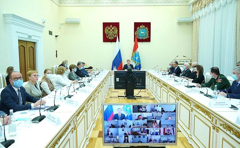 Фарит Мухаметшин принял участие вонлайн-режиме взаседании областного организационного комитета «Победа»