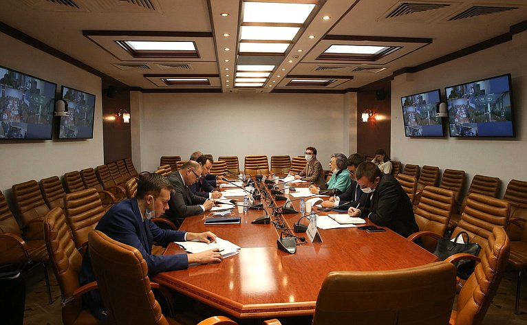Заседание Совета повопросам газификации субъектов РФ вформате видеоконференции