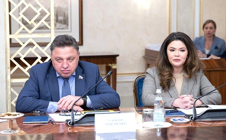 Вячеслав Тимченко иОксана Бурико