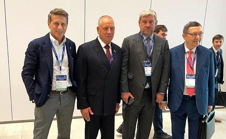 Сергей Митин принял участие вработе IV Международного рыбопромышленного форума ипосетил Выставку рыбной индустрии, морепродуктов итехнологий
