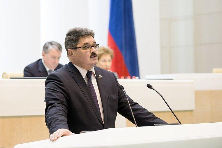 366-е заседание Совета Федерации Широков