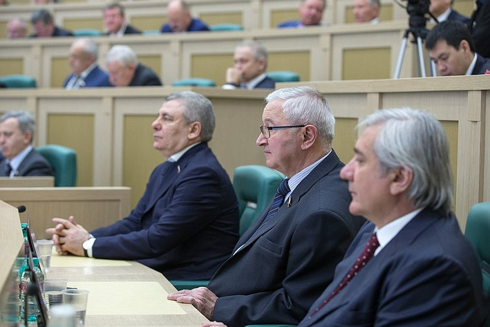 М. Дидигов на385-м заседании Совета Федерации