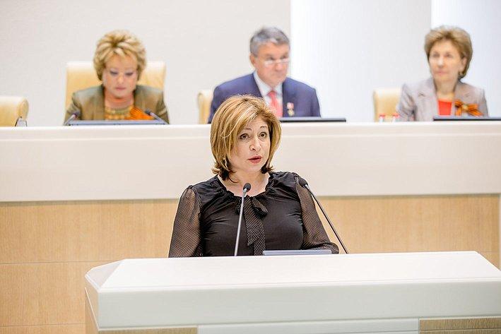 373-е Заседание Совета Федерации Иванова