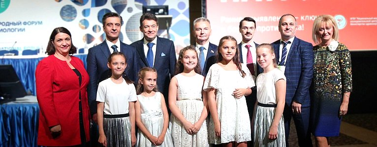 Игорь Каграманян принял участие воткрытии второго Международного форума онкологии ирадиологии