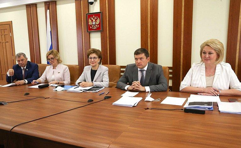 Совещание упервого заместителя Председателя Правительства РФ Андрея Белоусова