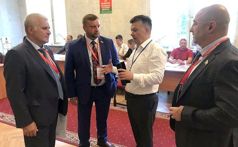 Сенаторы Российской Федерации приняли участие внаблюдении завыборами Президента Республики Беларусь