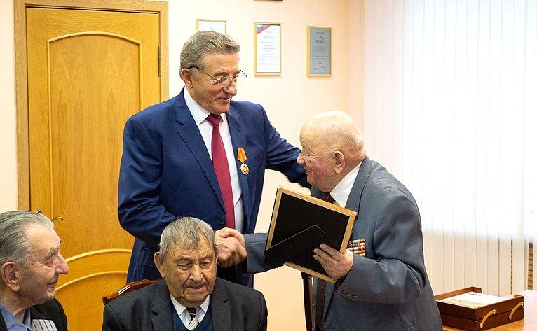 Сергей Лукин встретился светеранами Великой Отечественной войны