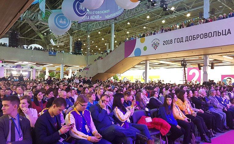 Андрей Кутепов принял участие воткрытии Международного форума добровольцев
