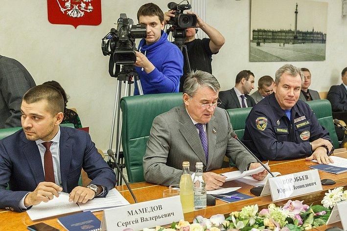 Заседание Комитета общественной поддержки юго-востока Украины