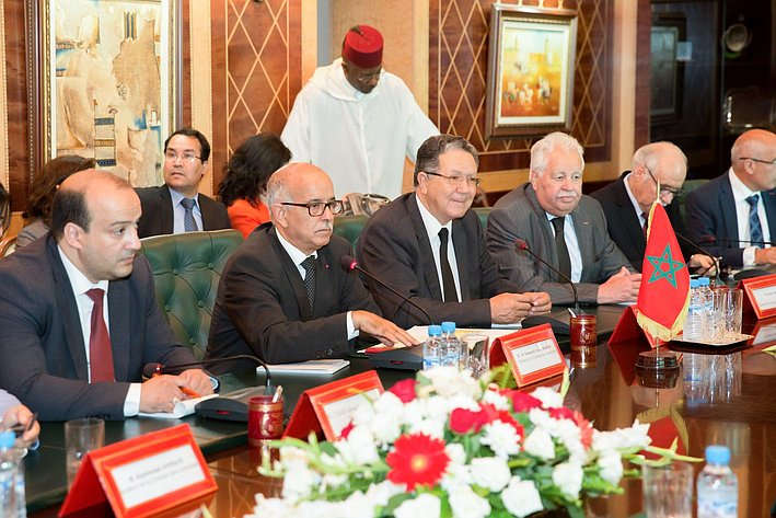 Визит делегации Совета Федерации в Марокко