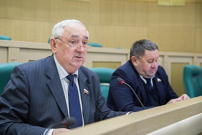 С. Киричук на385-м заседании Совета Федерации