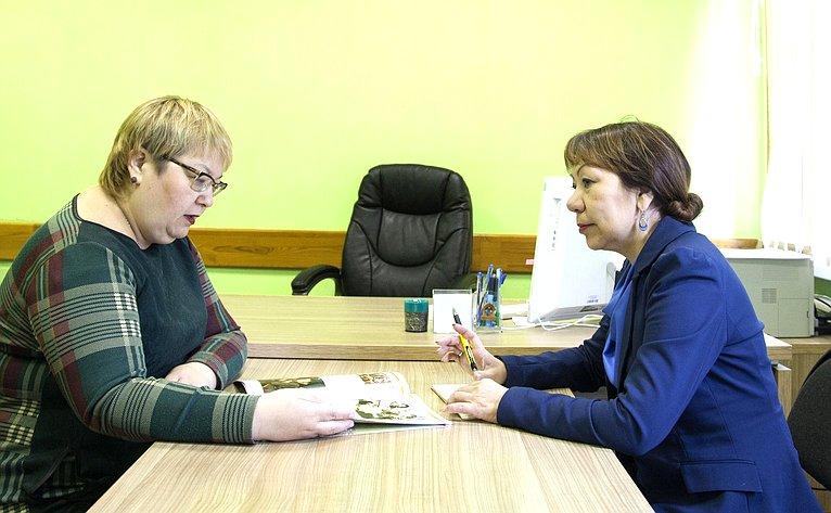В. Зганич провела ряд встреч свице-губернаторами Ненецкого автономного округа