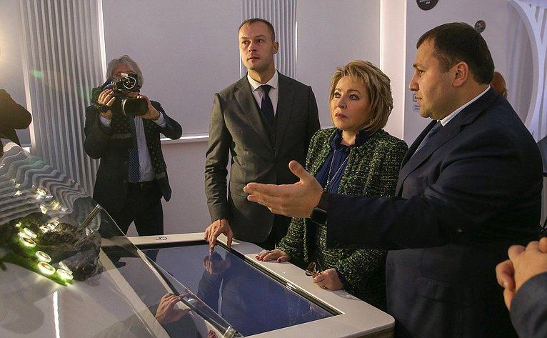 Рабочая поездка В. Матвиенко вКисловодск