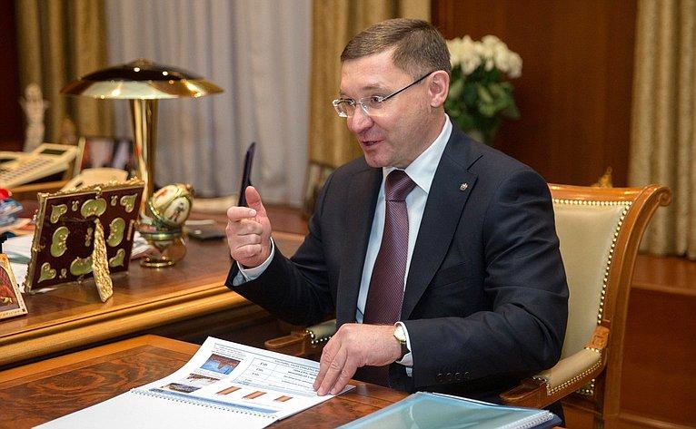 Губернатор Тюменской области В. Якушев