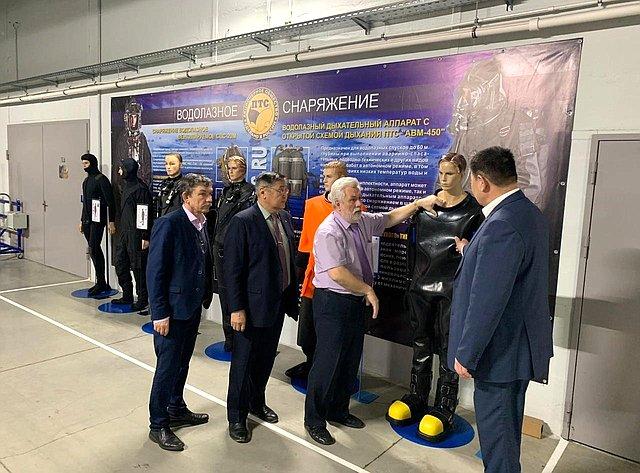 В. Мархаев провел рабочую встречу спрезидентом компании АО «ПТС»