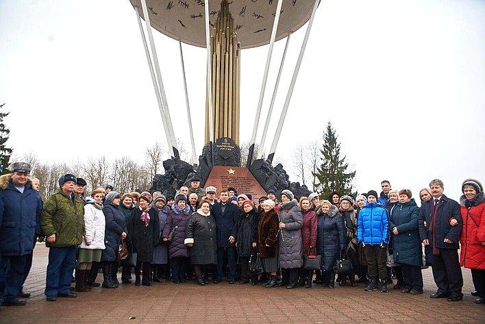 Андрей Турчак встретился сродителями иблизкими бойцов, погибших при исполнении служебного долга наСеверном Кавказе
