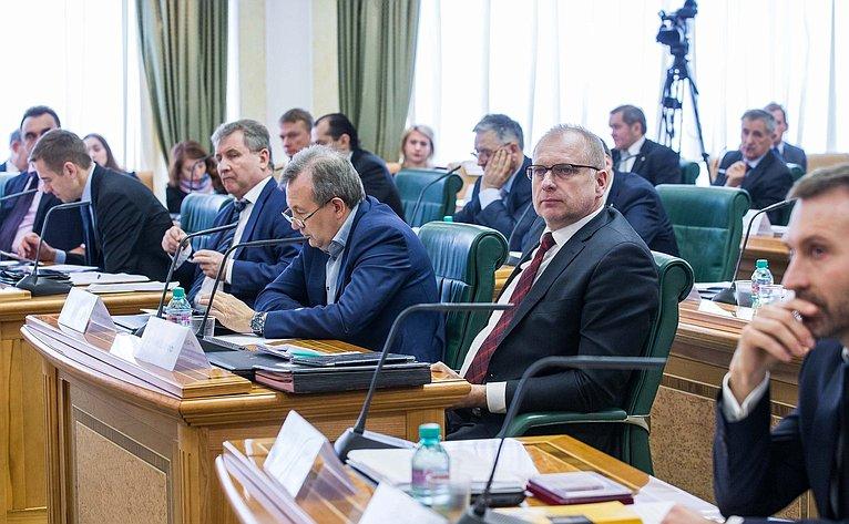Заседание Совета повопросам интеллектуальной собственности при Совете Федерации