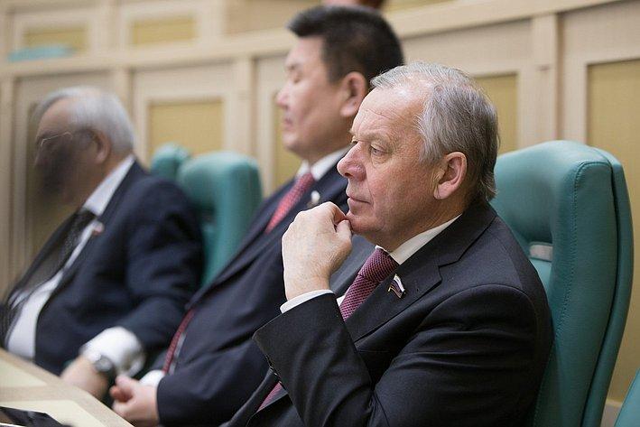 Шуба 383-е заседание Совета Федерации