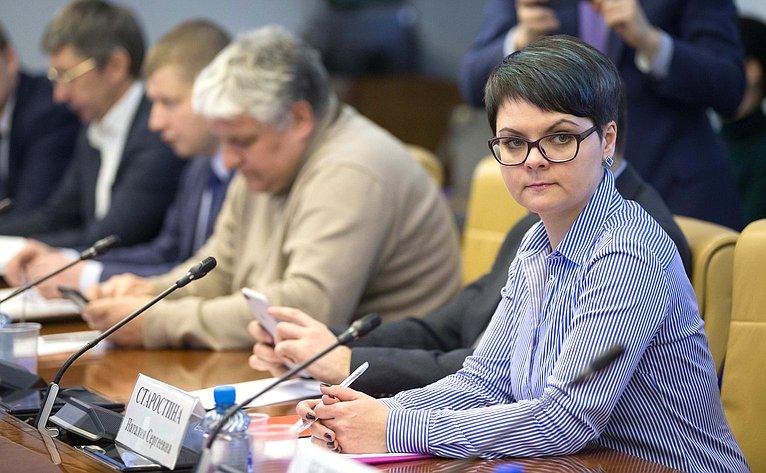 Заседание Временной рабочей группы при Комитете СФ поэкономической политике посовершенствованию законодательства РФ всфере защиты прав потребителей