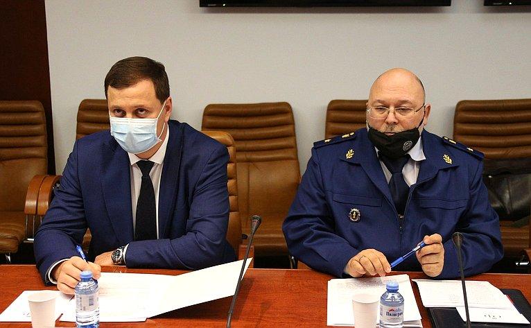 Заседание Временной комиссии СФ позащите государственного суверенитета ипредотвращению вмешательства вовнутренние дела РФ