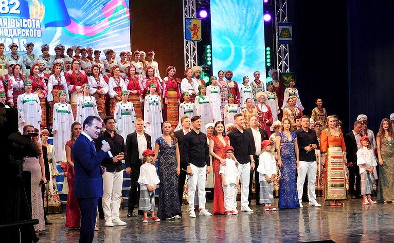 Торжественное мероприятие, посвященное празднованию 82-й годовщины создания Краснодарского края