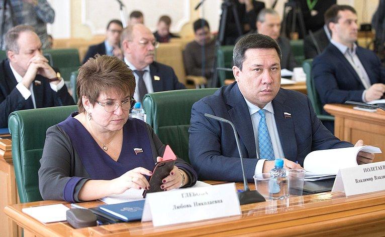 Л. Глебова иВ. Полетаев