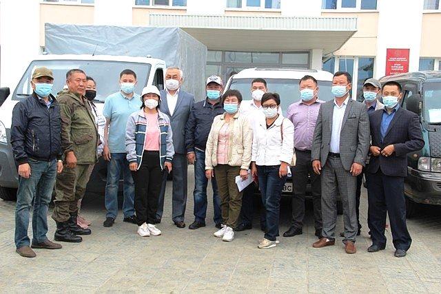 Жители Агинского округа отправили гуманитарную помощь для пострадавших отпаводка забайкальцам