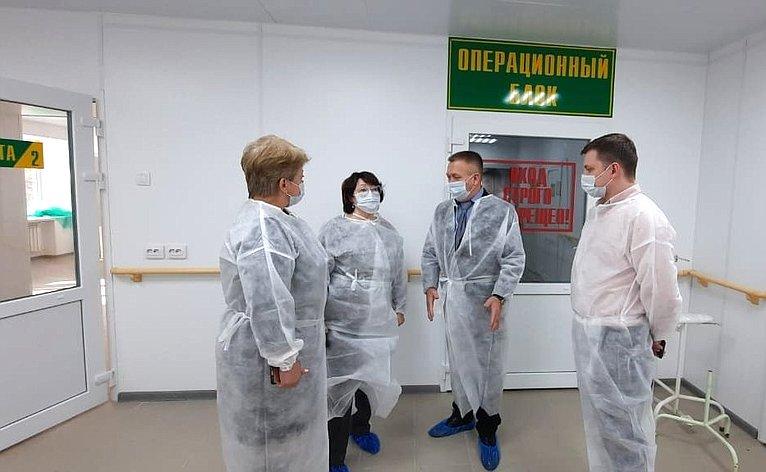 Людмила Талабаева посетила КБУЗ «Дальнереченская ЦГБ»