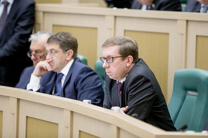 Майоров 380-е заседание Совета Федерации