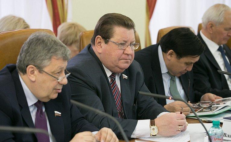 В. Литюшкин нарасширенном заседании Комитета Совета Федерации пофедеративному устройству, региональной политике, местному самоуправлению иделам Севера