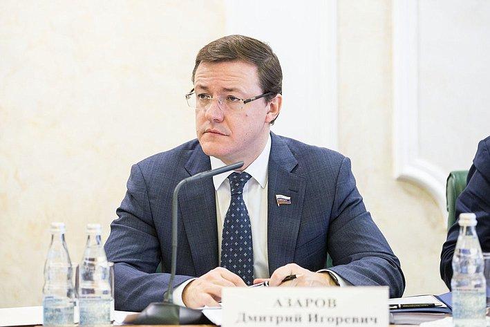 Заседание Совета по вопросам жилищного строительства и содействия развитию ЖКХ азаров