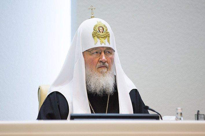 Патриарх Кирилл наРождественских парламентских встречах