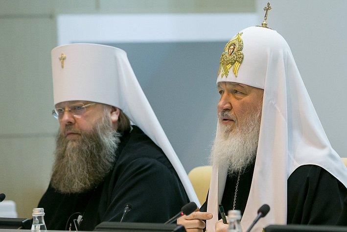 Патриарх Кирилл. Рождественские парламентские встречи