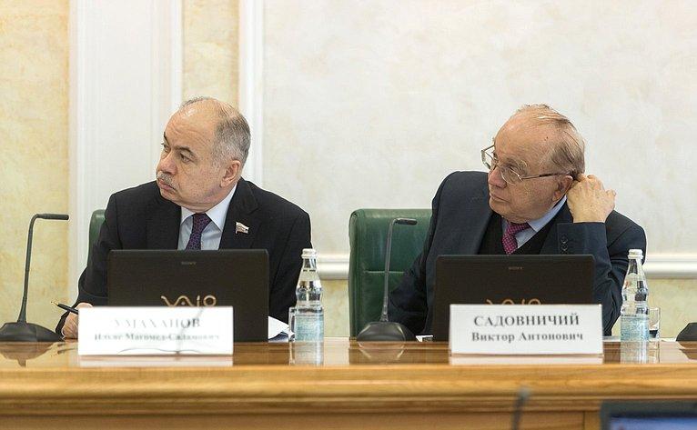 И. Умаханов иВ. Садовничий