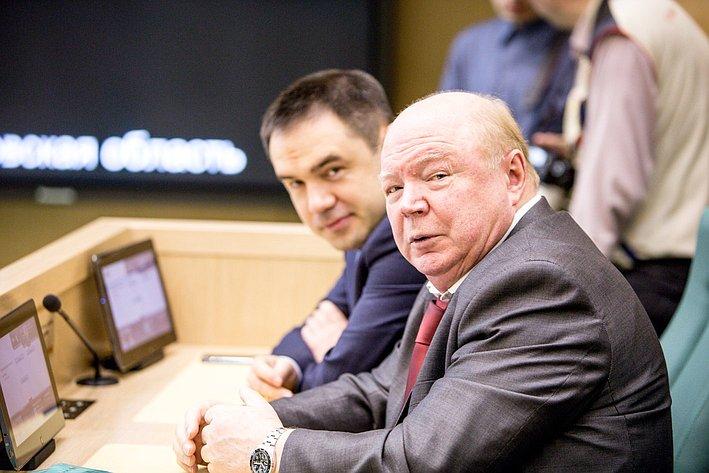 353 заседание СФ Лопатников и Хапсироков