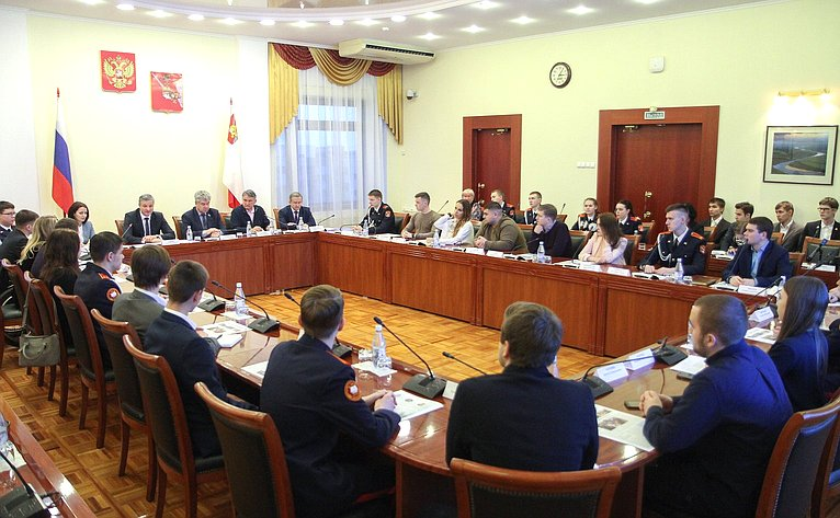 Заседание Дискуссионного клуба вВологде