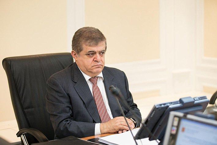 Заседание Комитета Совета Федерации по международным делам Джабаров