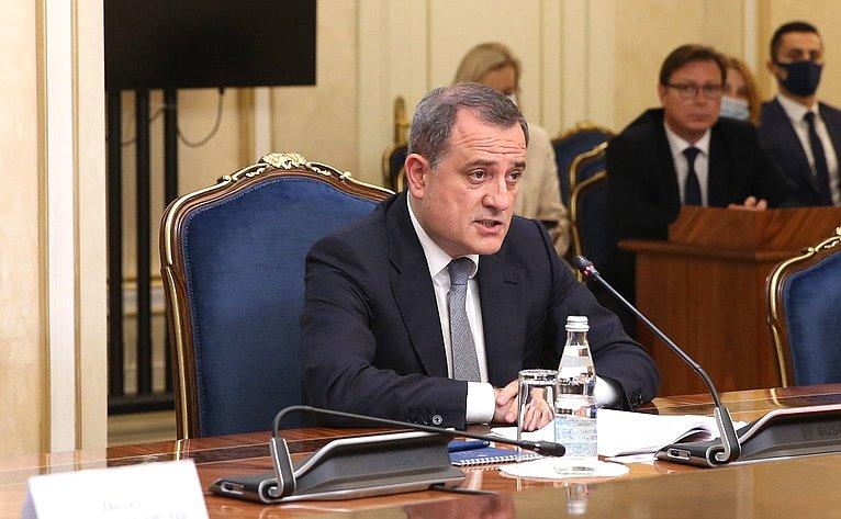 Министр иностранных дел Азербайджанской Республики Джейхун Байрамов