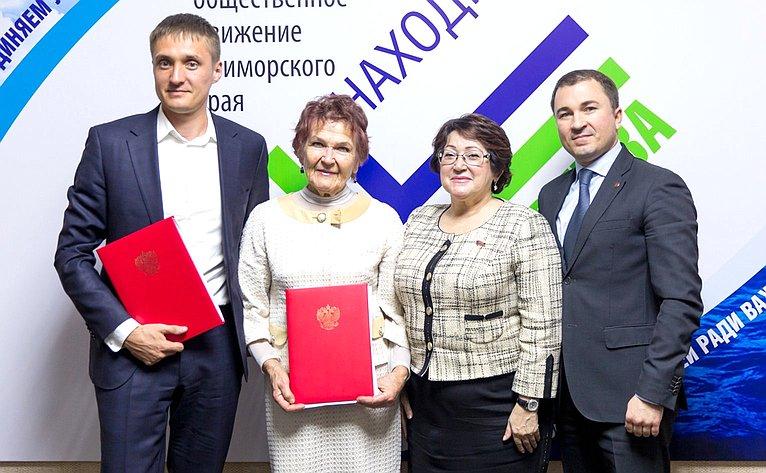 Людмила Талабаева провела прием граждан вг. Находка