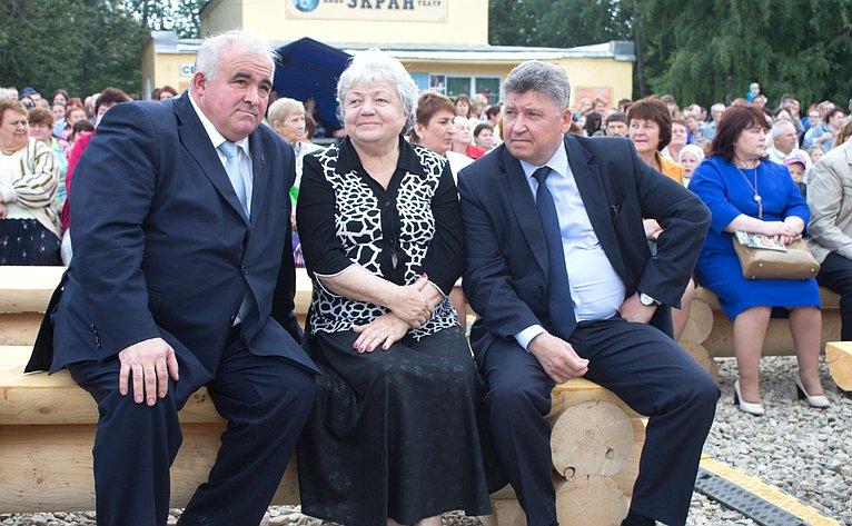 М. Козлов принял участие воткрытии фестиваля творчества вКостромской области