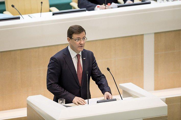 366-е заседание Совета Федерации Азаров
