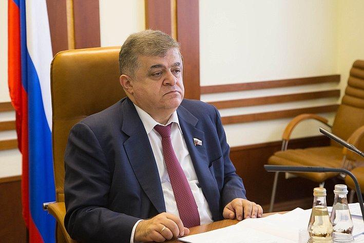 В. Джабаров Заседание Комитета СФ по международным делам