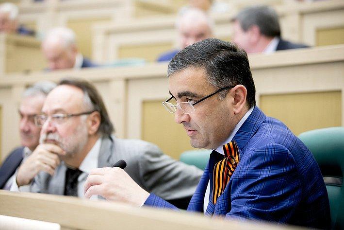 373-е Заседание Совета Федерации Хацаев